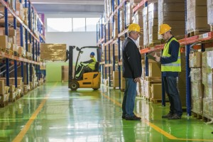 Warehouse labeling solutions - shipping labels, barcode labels, packaging labels, floor marking tape, shelf labels, inventory labels