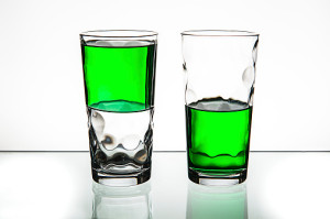 Is Your Glass Half Full?