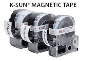 Magnetic Tape for Repositionable Labeling