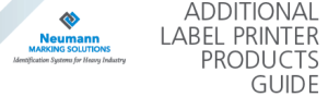 Download Our Additional Label Printer Products Guide