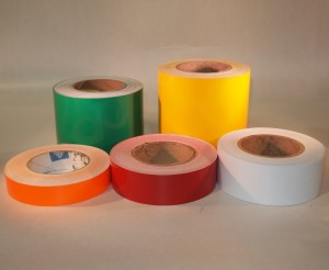 Rolls of label materials