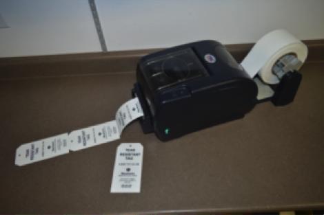 TSC TTP-247 Desktop Thermal Transfer Label Printer