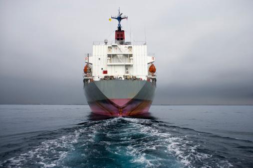 Marine shipping vessel