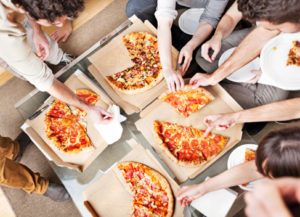 Win Your Crew a Pizza Lunch