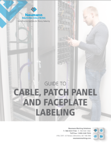 Guide to Cable Patch Panel Faceplate Labeling