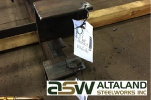 ASW Altaland Steelworks Inc. Case Study - Non-Rip Manufactured Equipment Tags