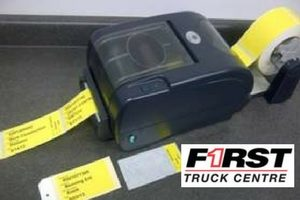 First Truck Center Case Study - Service Technician Warranty Tags