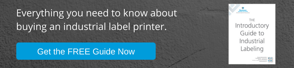 Everything you need to know about buying an industrial label printer