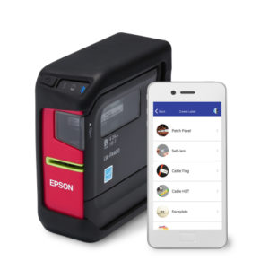 The Epson Labelworks LW-PX400 and Datacom App for Cable Installers