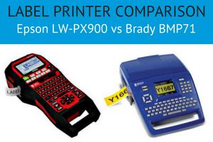 Label Printer Comparison Epson LW PX900 vs Brady BMP71